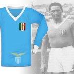1937, in finale di Coppa Europa Centrale con il tricolore sul petto