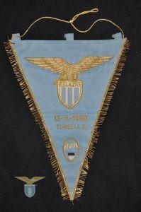 1969, gagliardetto Spal-Lazio