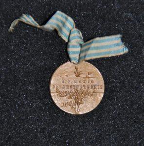 """1925, medaglia """"25esimo Anniversario Fondazione"""", retro"""