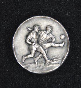 """1974, medaglia """"Zecca del Tesoro, scudetto Lazio"""", fronte"""