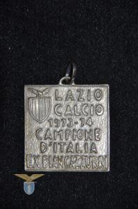 "1973/74, medaglia ""Lazio Campione d'Italia"""