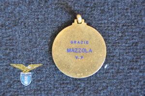 """1973/74, medaglia """"S.S. Lazio Campione d'Italia"""", retro"""