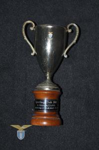 """1973, trofeo """"Lazio Campione d'inverno 1973/74"""""""