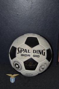1976, pallone personalizzato Giorgio Chinaglia