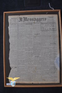 """1900, prima pagina de """"Il Messaggero"""", Fondazione della Lazio"""