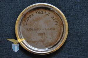 """1971, trofeo """"Coppa delle Alpi, Lugano-Lazio"""""""