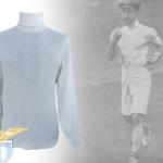 """Bigiarelli batte il record dell'ora di marcia sulla pista del """"Racing Club de France"""", coprendo 11 chilometri e 742 metri. Il """"Lazio Museum"""" presenta un eccezionale documento"""