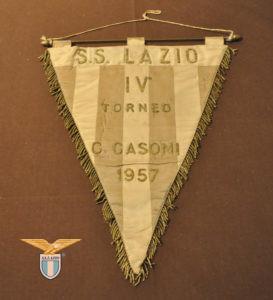 """Gagliardetto (1957) del torneo internazionale giovanile """"Cin Casoni"""""""