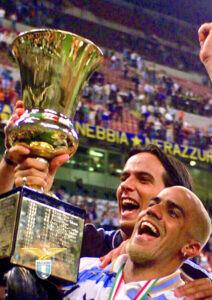 Coppa Italia 1999/00, Simone Inzaghi e Juan Sebastián Verón